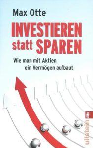 buchcover, investieren statt sparen, aktien, vermögen