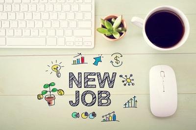 neuer job, neue arbeitsstelle, anstellung
