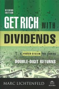 Bucheinband von «Get rich with dividends»