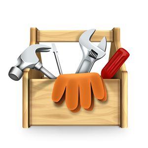 Werkzeugkasten, Hilfsmittel